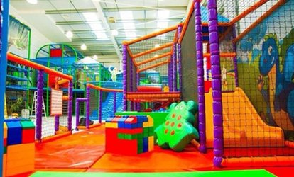 Soft Play Entry and Jug of Juice for Two or Four Kids at Award-Winning Kidz Fantasy Land (Up to 54% Off)