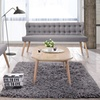 Melody Natural-Wood and Fabric Loveseat or Sofa