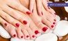 Kosmetikstudio Ort der Schönheit - Kosmetikstudio Ort der Schönheit: 1x oder 2x 45 Min. kosmetische Fußpflege inkl. Massage und Peeling im Kosmetikstudio Ort der Schönheit (52% sparen*)