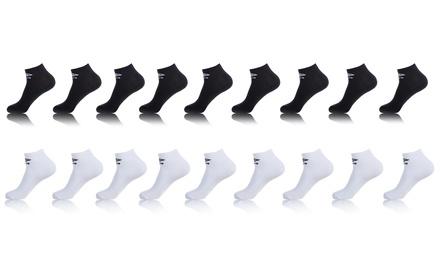 Lot de 9, 12 ou 18 chaussettes Tiges Courtes Umbro