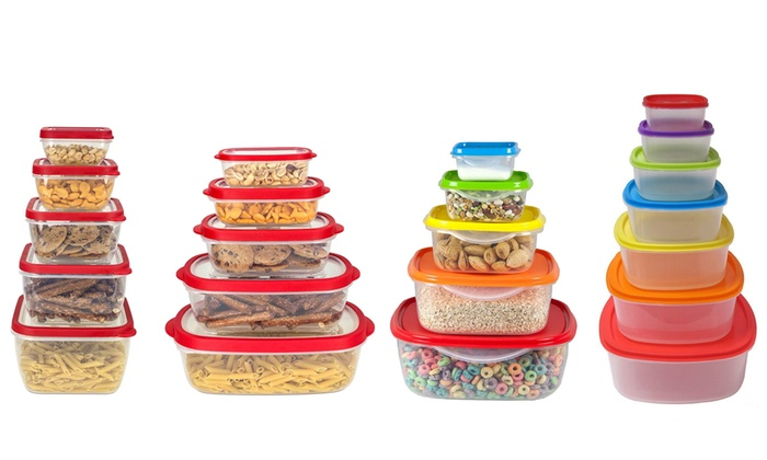 Food Container Set 10 14pc Groupon Goods