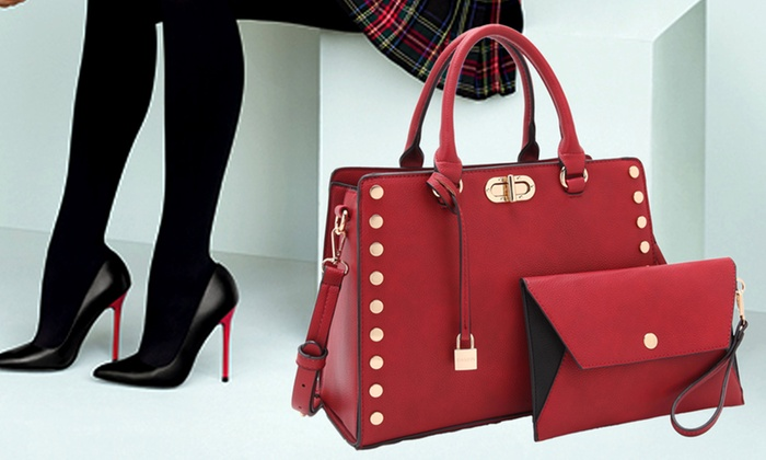 588b69869de37e Up To 47% Off on MK Belted Collection Purse | Groupon Goods