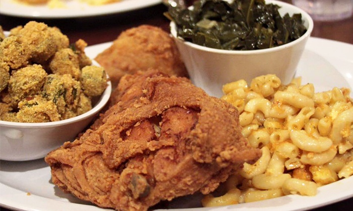 WM Grill House - WM Grill House: Soul Food for Dine-In or Takeout at WM Grill House (Up to 43% Off). Three Options Available.