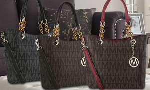 MKF Collection Milan Signature Tote by Mia K. Farrow