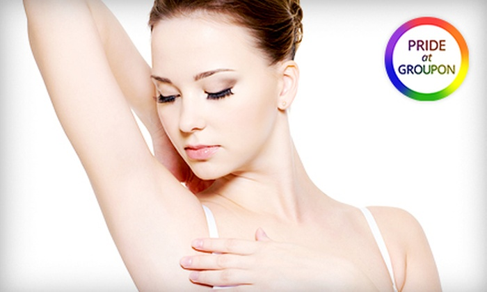 Aura Skin Spa - Financial District: Three or Six Laser Hair-Removal Treatments or One Year of Unlimited Laser Hair Removal at Aura Skin Spa (Up to 75% Off)