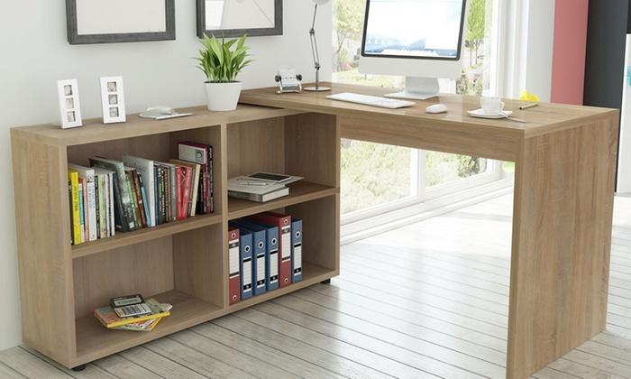 jusqu 39 11 bureau domicile groupon. Black Bedroom Furniture Sets. Home Design Ideas