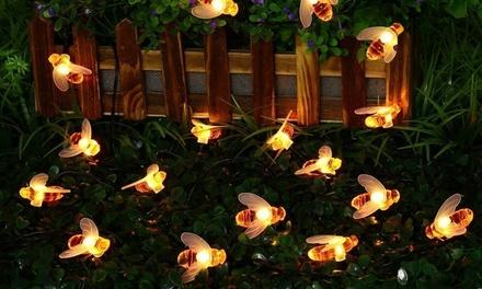 30 lampes LED en forme d'abeilles GloBrite