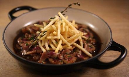 Menu surprise en 3 services, viande ou poisson au Brasserie Bru by Suzy à partir de 29,99 €