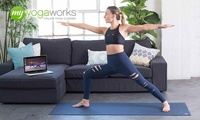 3-Months of Unlimited Online Yoga from MyYogaWorks (Up to $62 Value)