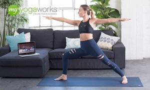 MyYogaWorks: 3- or 12- Month Subscription to Online Yoga from MyYogaWorks (Up to 84% Off)