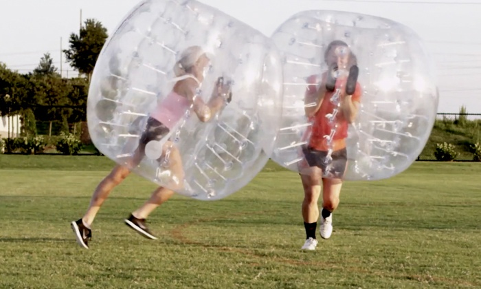 KnockerBall Chicago - Rockford: $229 for a One-Hour On-Location Bubble-Soccer Game for 10 from KnockerBall Chicago ($420 Value)