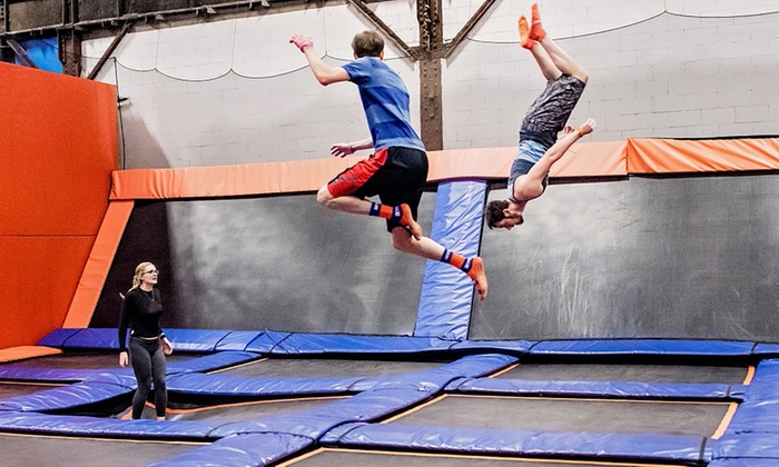 picture about Skyzone Printable Waiver known as Sky Zone Milwaukee - Up Towards 36% Off - Waukesha, WI Groupon