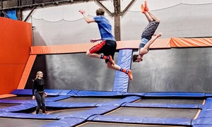 Up to 44% Off Passes, Party, or Camp at Sky Zone Milwaukee at Sky Zone Milwaukee, plus 6.0% Cash Back from Ebates.