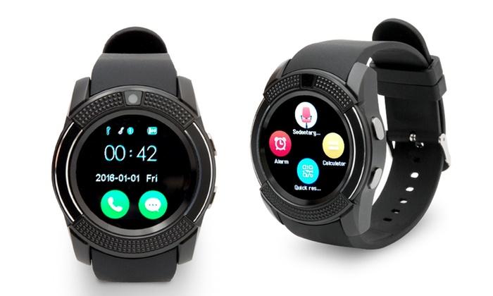 Up To 64% Off BAS-Tek V8 Smartwatch | Groupon