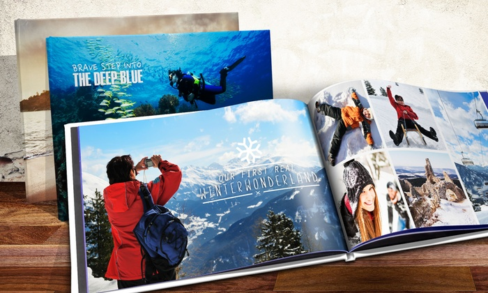 A5 or A4 Hardback Photobook with 20 or 40 Pages from Printerpix (Up to 72% Off)