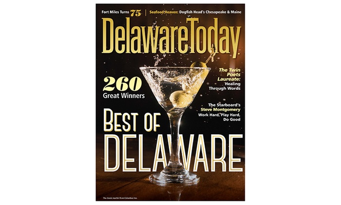 "Delaware Today - Wilmington-Newark: One- or Two-Year Subscription to ""Delaware Today"" (Up to 53% Off)"