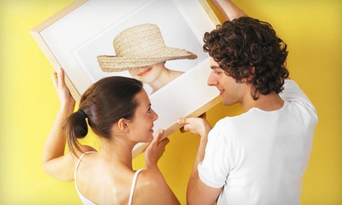 The Frame Corner - Summerlea: C$99 for C$200 Worth of Custom Framing at The Frame Corner