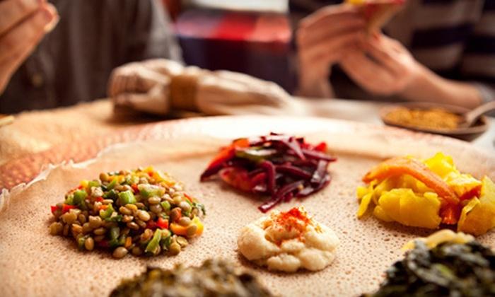 Demera Ethiopian Restaurant - Uptown: $15 Reward
