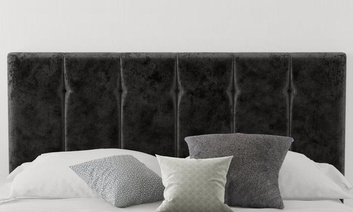Robin Mirazzi Velvet Bed Headboard (£49)