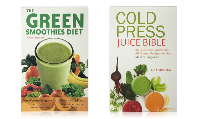 Smoothies and Juices Books Bundle (2-Pack)