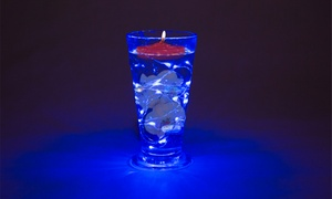Lumières submersibles LED vases