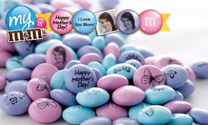 50% Off Personalized M&M's at MyMMs.com, plus 9.0% Cash Back from Ebates.