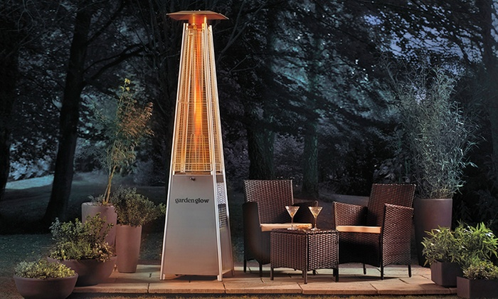 Pyramid Flame Gas Patio Heater | Groupon Goods
