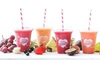 3 oder 5 Smoothies mit Joghurteis oder Fruchtsorbet bei Juice Point (bis zu 32% sparen*)