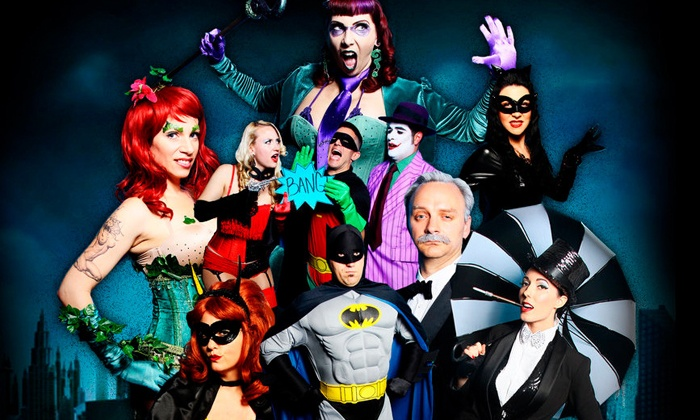 """Yadi Presents """"Girls of Gotham City Burlesque"""" - The Yost Theater: """"Girls of Gotham City Burlesque"""" at The Yost Theatre on Saturday, January 11, at 8 p.m. (Up to 50% Off)"""