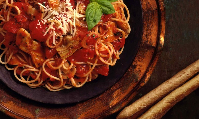 Yannalfo's - Marblehead: Three-Course Italian Dinner for Two or Four at Yannalfo's (Up to 55% Off)