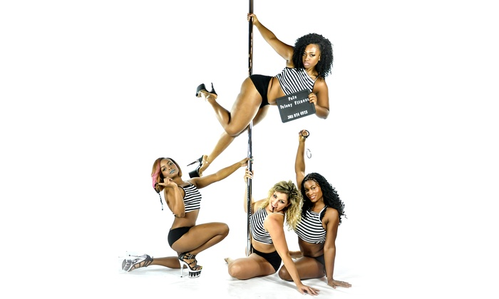 Pole Felony Fitness - Miami Industrial District: Two or Four Twerk-Out Aerobic Classes at Pole Felony Fitness