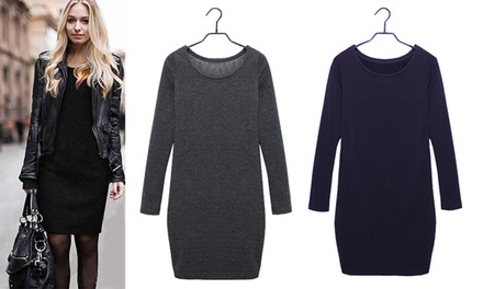 Ultra Thick Fleece Dress: One $19 or Two $29