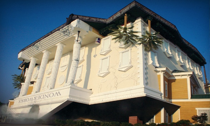 WonderWorks Pigeon Forge - Pigeon Forge: $23 for Educational-Amusement-Park Visit for Two at WonderWorks Pigeon Forge (Up to $45.98 Value)