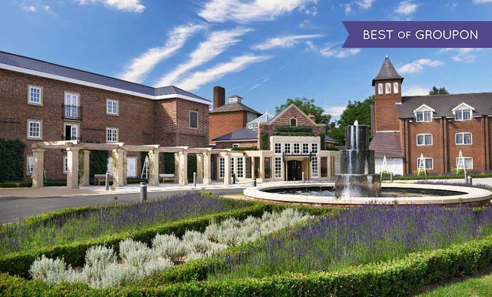 North Warwickshire: 1-Night Stay for Two with Breakfast, Dinner, Leisure Access and Spa or Golf Voucher at 4* The Belfry