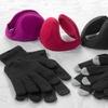 Earmuffs and Touchscreen Gloves