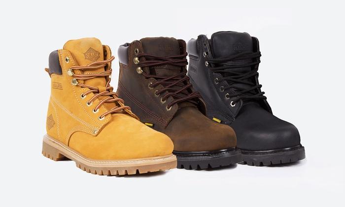 Bonanza Men's Plain Toe Work Boots