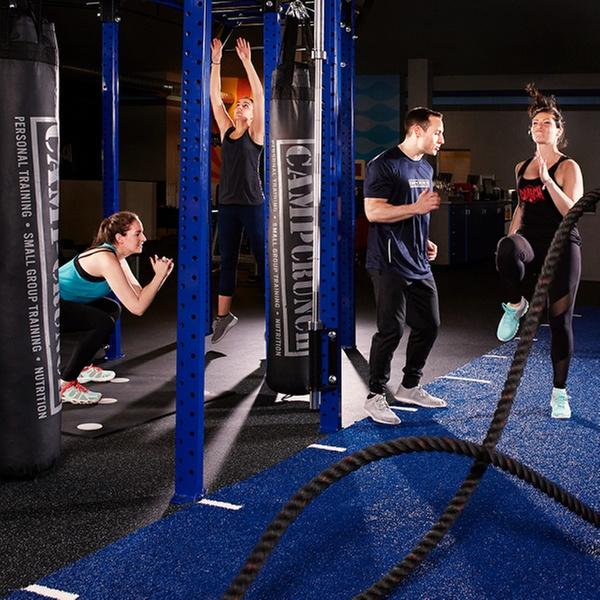 gym membership crunch groupon two week or one month city membership with optional 60 minute personal training at crunch up to 80 off