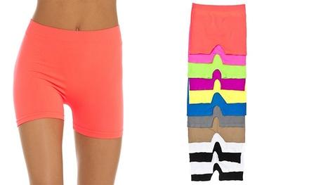 Women's Basic Stretch Shorts (12-Pack)