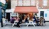 Gianlucas Coffee Cult - Fulham Broadway: Breakfast Meal with a Hot Drink and Art Exhibition Entry for One or Two at Gianlucas Coffee Cult (Up to 41% Off)