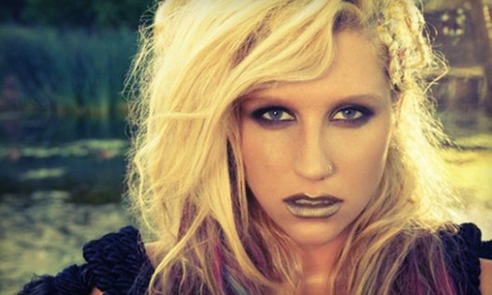 Ke$ha with Special Guest Mike Posner - LC Pavilion: Ke$ha with Special Guest Mike Posner at Lifestyle Communities Pavilion on August 27 at 7:30 p.m. (Up to Half Off)