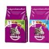 Three Packs of Whiskas Dry Food