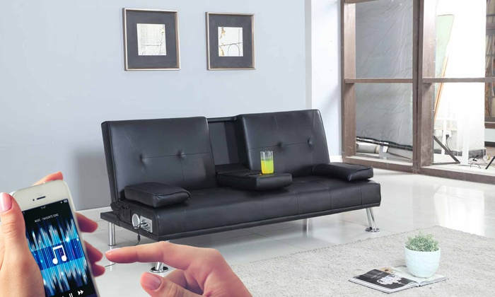 70 off reel sofa bed groupon for Sofa bed 70 off