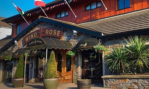 The Windrose : Sirloin Steak Meal for Two or Four at The Windrose Bar & Bistro (Up to 46% Off)