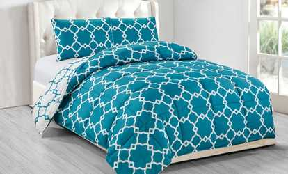 Comforter Sets Blue Deals Amp Discounts Groupon