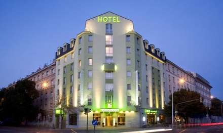 Prague: Executive Double or Twin Room for Two with Breakfast at the 4* Plaza Prague Hotel