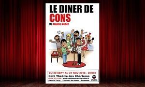 (#BonPlanBordeaux) « Le Dîner de cons » à Bordeaux -39% réduction
