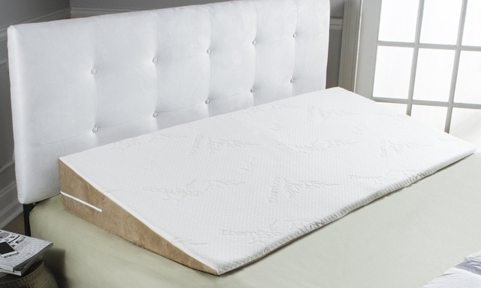 avana superslant acid reflux bed wedge with bamboo cover - Bed Wedge For Acid Reflux