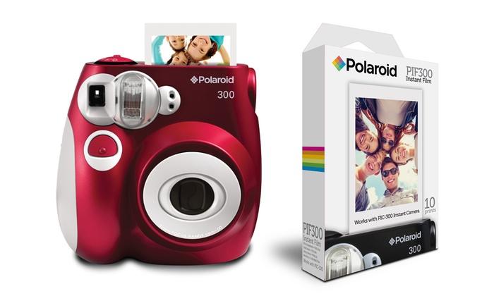 jusqu à 40% Pack Polaroid PIC300 + 10 Films   Groupon e8f2828e325a