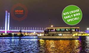 Afloat Cruises International: $199 for New Year's Eve Cruise with Food, Drinks and Entertainment with Afloat Cruises International (Up to $399 Value)