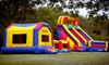 Half Off Bounce-House Rentals from HappyJumper.com